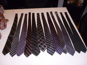 Lot de 12 cravates de grandes marques (120)