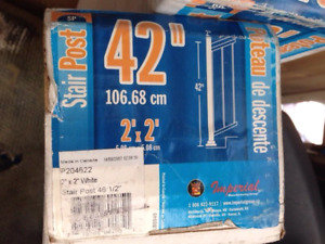 STAIR POSTS - NEW in box