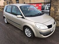 2007 RENAULT SCENIC 1.6, 1 YEAR MOT, WARRANTY, NOT PICASSO ZAFIRA TOURAN CMAX