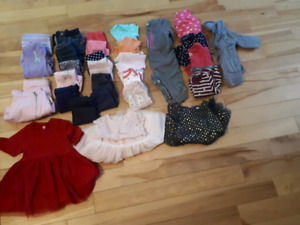 6 to 12 month girl clothing