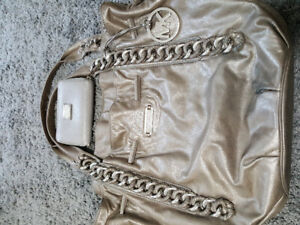 authentic Michael kors large purse and small wallet