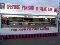 Mobile Event Catering Business in NE Scotland