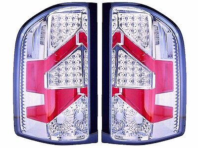 TIFFIN ALLEGRO RED 2013 2014 2015 CHROME LED TAIL LAMP LIGHT TAILLIGHTS RV - SET