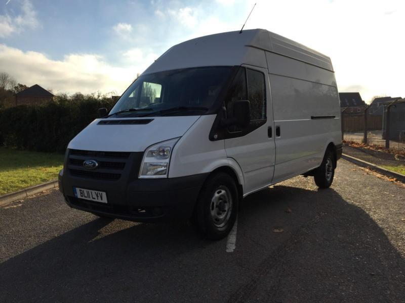 FORD TRANSIT 350 LWB HIGH ROOF 2.2 FWD 115 BHP 6 SPEED 2011 11