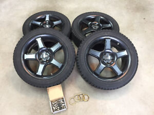 Winter tire and rim package *5x108.0*