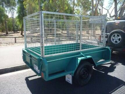7X4 CAGED HEAVY DUTY TRAILER Adelaide CBD Adelaide City Preview