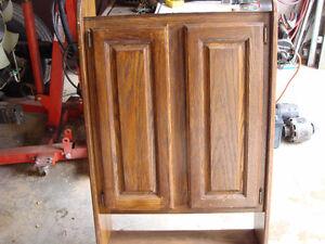 Wall Cabinet Solid Oak