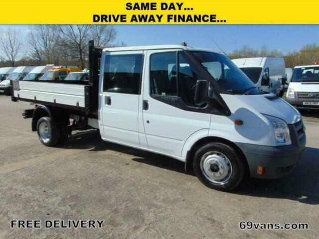 bdc08fd860 2010 10 FORD TRANSIT CREW CAB TIPPER