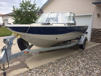2009 Crestliner 1800 Super Hawk with 140HP Suzuki Outboard