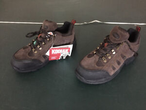 Brand New Women KODIAK Steel toe Shoes, CSA, size 9