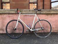 Single speed bike for sale! Raleigh frame:-)