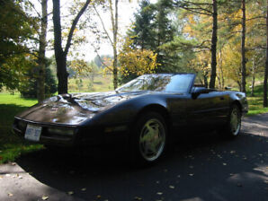 Summer Toy - Corvette C4 Convertible Really low KM