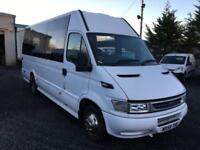 Iveco DAILY lwb coach 45C14.3.0 td 17 seat with c.o.i.f certificate and taco