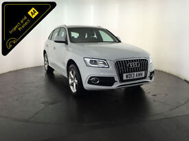 2013 AUDI Q5 S LINE TDI QUATTRO AUTO 4WD 175 BHP 1 OWNER FROM NEW FINANCE PX