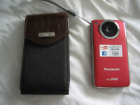 Compact Panasonic FULL HD CAMCORDER with FREE Chaps RL Case