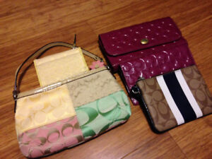Coach Purse Wallet and Clutch