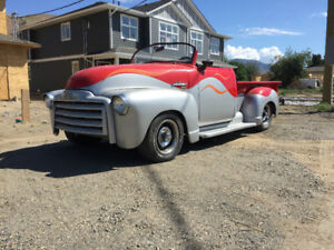 1953 Gmc Roadster pick up truck