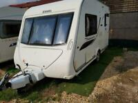 2011 Elddis Chatsworth 362 2 Berth End Kitchen Caravan with Solar