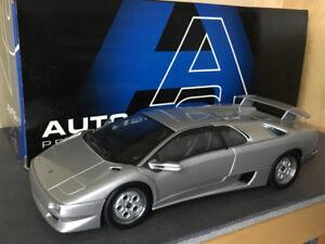 Autoart 1/18 Lamborghini Diablo VT Silver