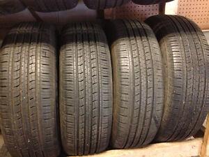 4 kumho 225/65/17 all season installation available 90% tread