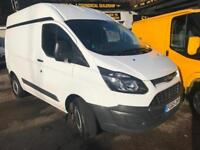 2015 65 FORD TRANSIT CUSTOM HIGH ROOF 2.2TDCi 290 L1H1 / LOW MILES
