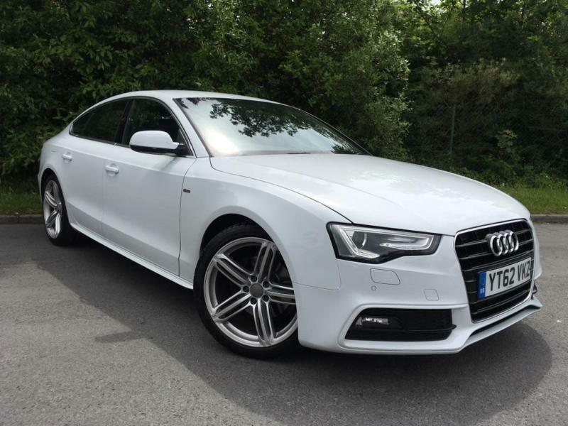 2012 audi a5 2 0 tdi s line sportback 5dr in bournemouth dorset gumtree. Black Bedroom Furniture Sets. Home Design Ideas