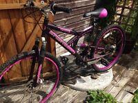 Girls mountain bike cheap project needs work