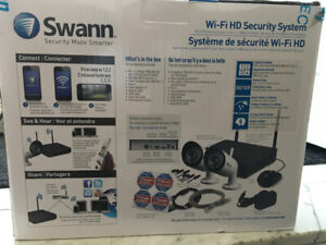 Swann security camera new cost $549 asking $290.   (647) 8612843
