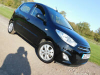 2013 63 HYUNDAI i10 1.2 Active 5 DOORS***ONLY 3000 MILES***NEW MOT**FSH**£5295