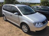2006 Volkswagen Touran 1.6 FSI SE MPV 5dr (7 Seats)