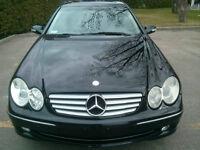 2005 Mercedes-Benz CLK-Class Coupe Black