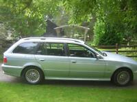 DIESEL 01, BMW 530 TD, 2.9, SE TOURING, 5 DOOR, BLUE METALLIC