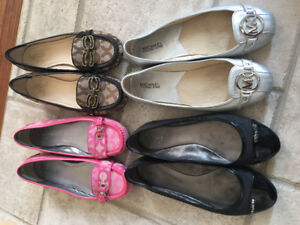 Coach,Michael Kors shoes size9, check my other ads