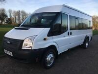 Ford Transit T430 135Bhp 17 Seater Minibus 1 Owner, Lovely Low Mileage Example