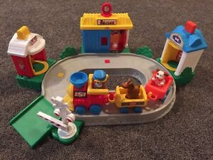 Fisher price little people pop n surprise train