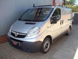 £ 41 A WEEK - 2014 VAUXHALL VIVARO SWB WINDOW WASHING VAN / ONBOARD WASH SYSTEM