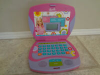 $40 - Barbie B-Book Laptop Interaction.  Children Learning S