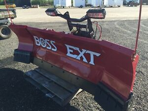 New Boss EXT Expandable  Snow Plow