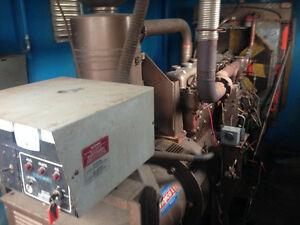 104KW 6cyl diesel generator 240 480volt only Make of motor is Wa