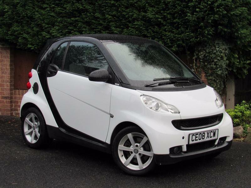 2008 Smart ForTwo COUPE PULSE 71BHP, WHITE, PETROL, ALLOY WHEELS, DOG GUARD