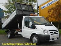 2011 (11) Ford Transit 115 T350m Tipper 10.5ft Alloy Body [ Low Mileage ] RWD