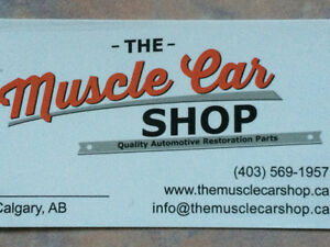 The Muscle Car Shop has Re-Opened!!