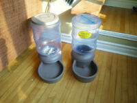 Pet waterer and feeder