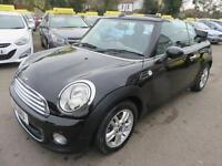 2011 MINI Convertible 1.6 One (Salt pack) 2dr