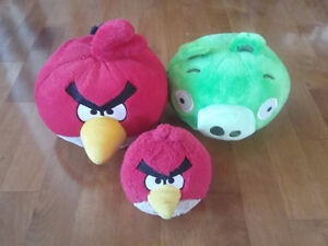 Peluches (toutous) Angry Birds