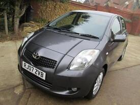 Toyota Yaris 1.3 VVT-i TR One Owner From New 70K