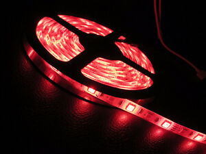 LED Strip lights  5050  5 meter   RED
