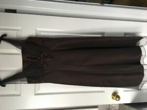 Chocolate Brown Prom Dress Size 6 Worn Once