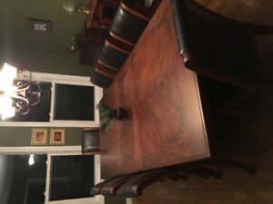 Save $$$ High end Dining room set, Barstools, Couches and more.