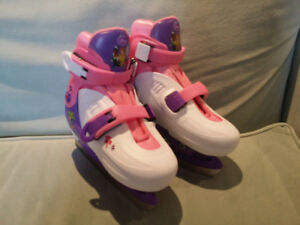 Like New in Box Disney Princess Adjustable Skates Size 9-12